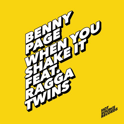 Benny Page - When You Shake It Feat. Ragga Twins [HSR002]